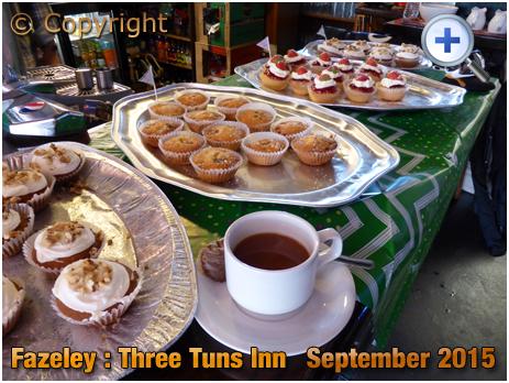 Fazeley : Macmillan Coffee Morning event at the Three Tuns Inn [2015]