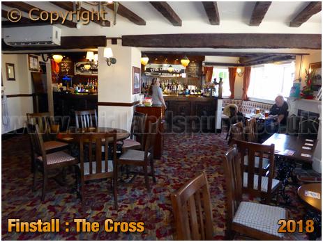 Finstall : Interior of the Cross Inn [2018]