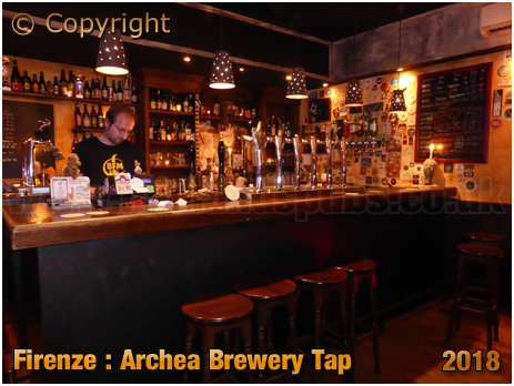 Firenze : Bar of Archea Brewery Tap [2018]