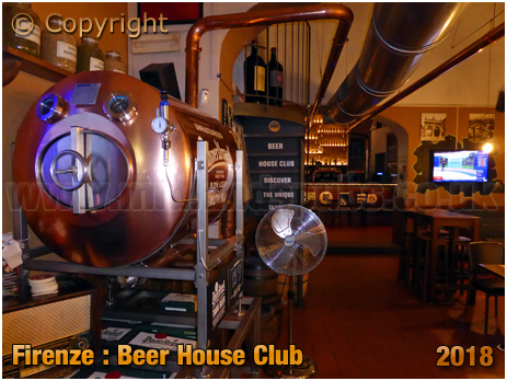 Firenze : Beer House Club at Corso dei Tintori [2018]