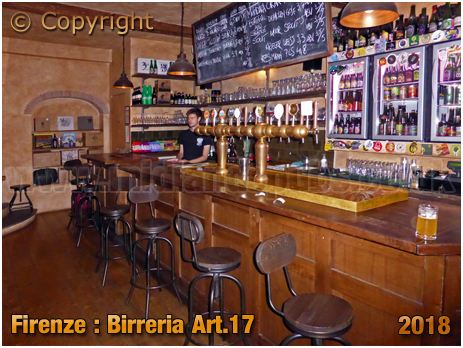 Firenze : Birreria Art.17 at Borgo la Croce 64 [2018]