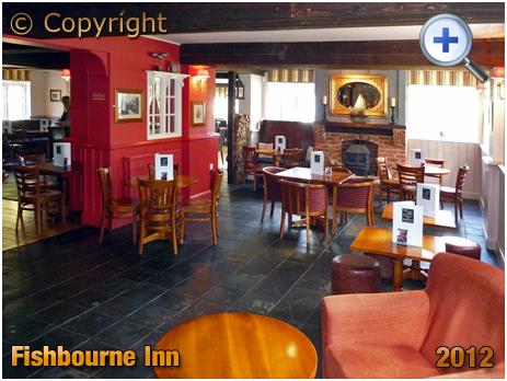 Isle of Wight : Interior of the Fishbourne Inn [2012]