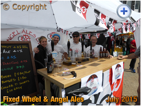 Halesowen : Fixed Wheel Brewery and Angel Ales at the Black Country Festival [2015]