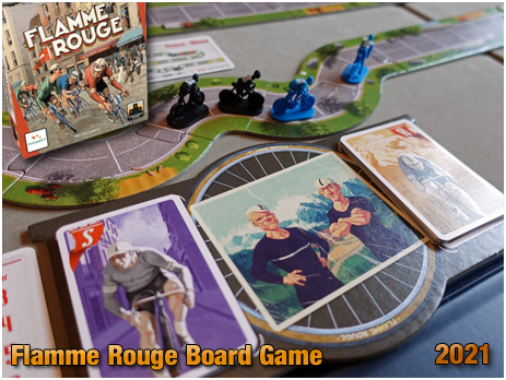 Flamme Rouge Board Game [2021]