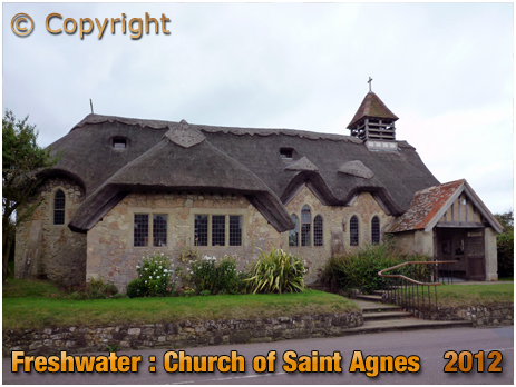 Isle of Wight : Church of Saint Agnes at Freshwater [2012]