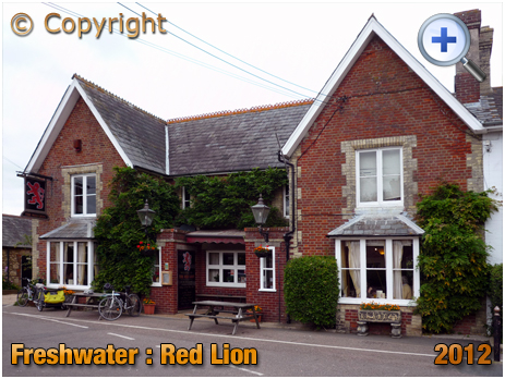 Isle of Wight : The Red Lion at Freshwater [2012]