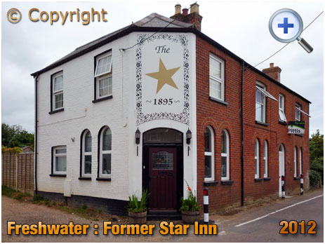 Isle of Wight : Former Star Inn at Freshwater [2012]