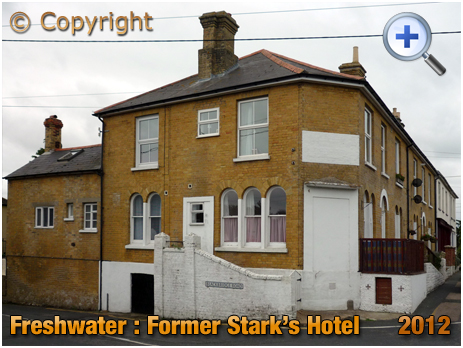 Isle of Wight : Former Stark's Hotel at Freshwater [2012]