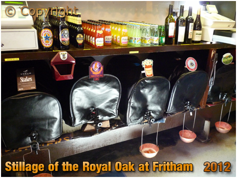 Fritham : Stillage at The Royal Oak [2012]