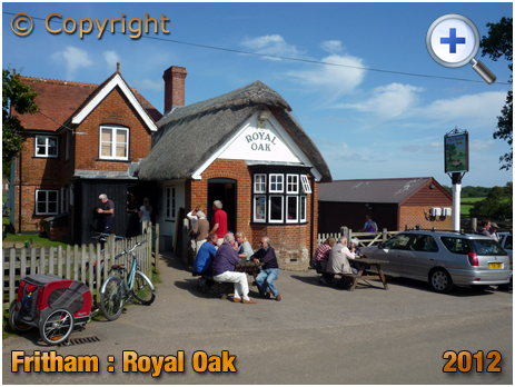 Fritham : The Royal Oak [2012]