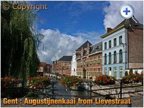 Gent : Augustijnenkaai from Lievebrug [2008]