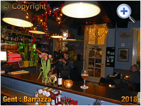 Gent : Interior of Barrazza at Hoefslagstraatje [2018]