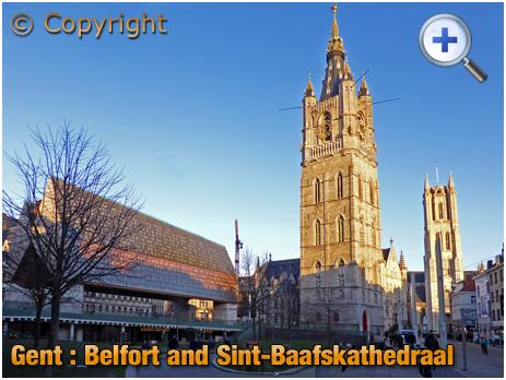 Gent : Belfort and Sint-Baafskathedraal [2018]