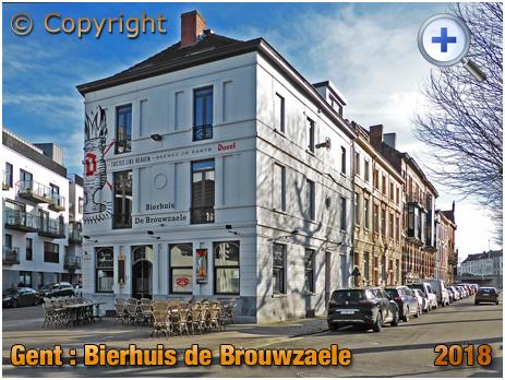 Gent : Bierhuis De Brouwzaele at Ter Platen 17 [2018]
