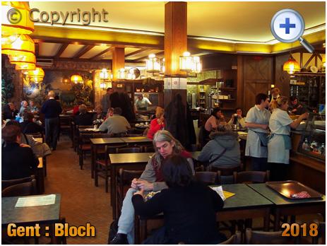 Gent : Interior of Block Café at Veldstraat [2005]