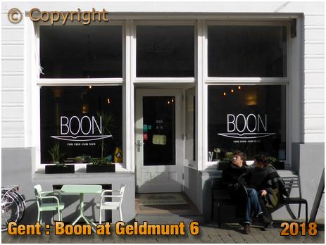 Gent : Boon at Geldmunt 6 [2018]