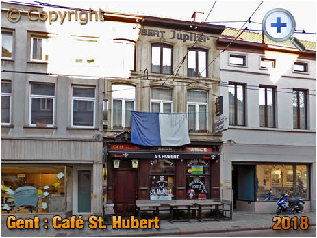 Gent : Café St. Hubert at Kortrijksepoortstraat 210 [2018]