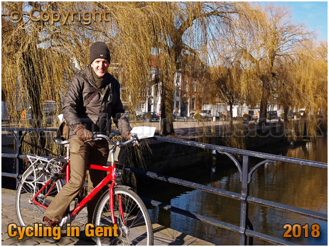 Gent : Cycling in Beautiful City [2018]