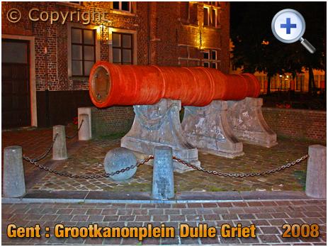 Gent : Dulle Griet at Grootkanonplein [2008]