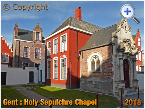 Gent : Holy Sepulchre Chapel at the Beguinage of Our Lady at Hoyen [2018]