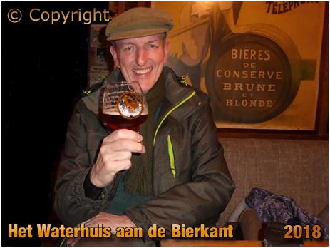 Klokke Roeland bier in Het Waterhuis aan de Bierkant in Gent