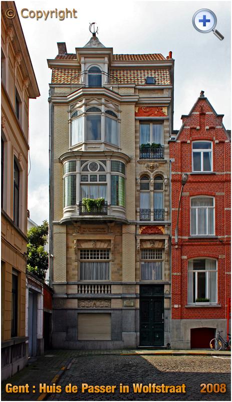 Gent : Huis de Passer at Wolfstraat 12 [2008]
