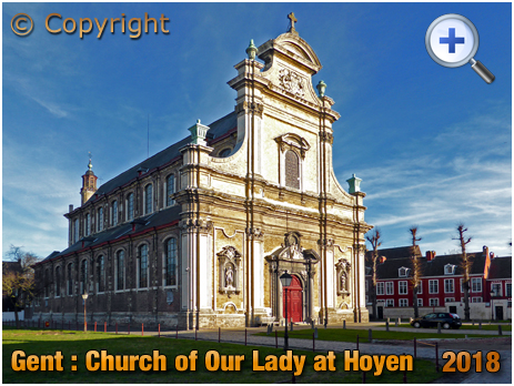 Gent : Church of Our Lady at Hoyen [2018]
