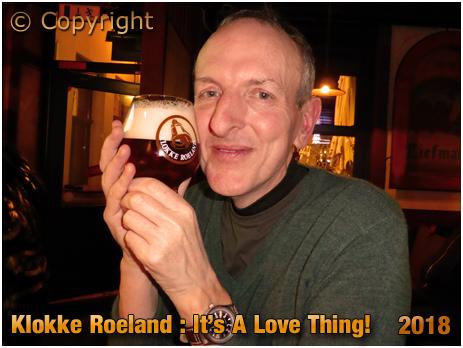 Drinking Klokke Roeland in Het Waterhuis aan de Bierkant [2018]