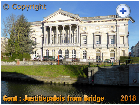 Gent : Het Justitiepaleis at Koophandelsplein [2018]