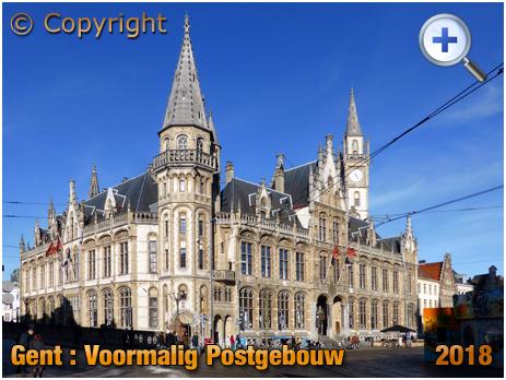 Gent : Voormalig Postgebouw on Korenmarkt [2018]93;