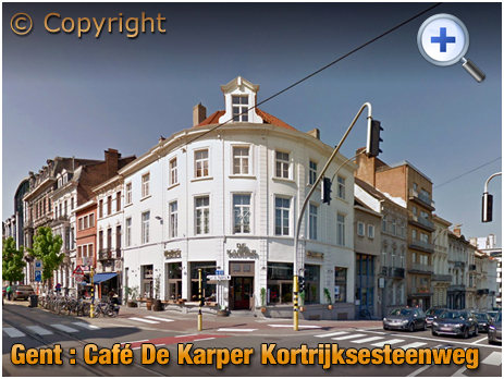Gent : Café Karper at Kortrijksesteenweg 2 [2018]