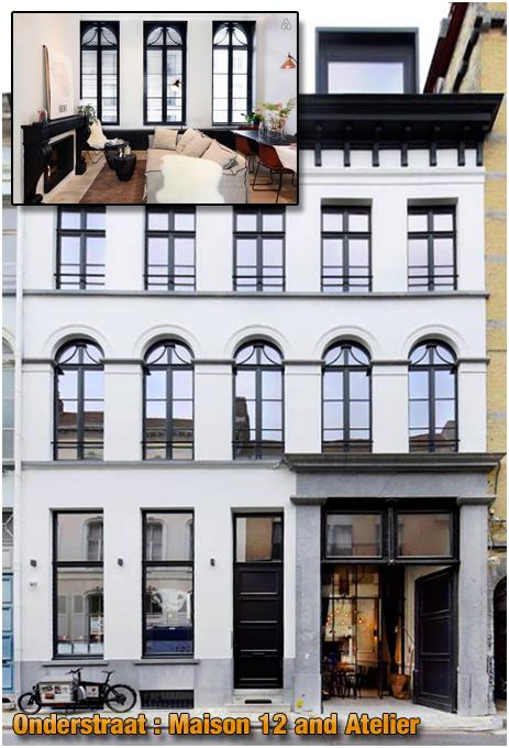 Gent : Maison 12 & Atelier in Onderstraat [2018]