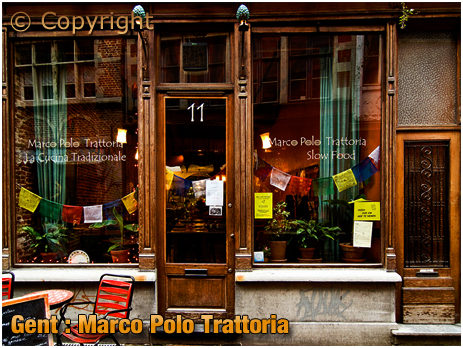Gent : Marco Polo Trattoria at Serpentstraat 11 [2018]