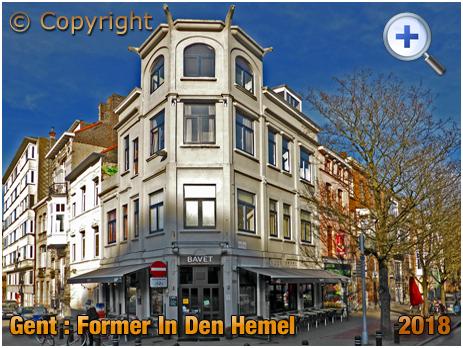 Gent : Café In Den Hemel on Muinkkaai [2018]