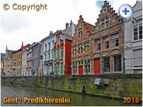 Gent : Predikherenlei from Boat [2018]