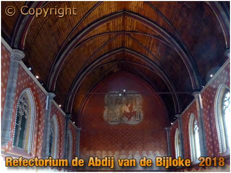 Gent : Refectorium de Abdij van de Bijloke [2018]