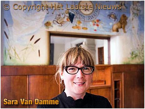 Gent : Sara Van Damme of Boon [Photo courtesy of Het Laatste Nieuws]