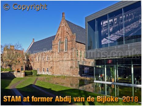Gent : STAM at former Abdij van de Bijloke [2018]