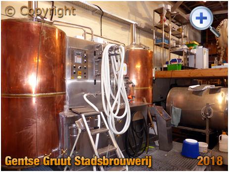 Gent : Brewing Plant at Gentse Gruut Stadsbrouwerij [2018]
