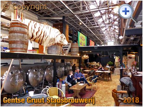 Gent : Tap House at Gentse Gruut Stadsbrouwerij [2018]