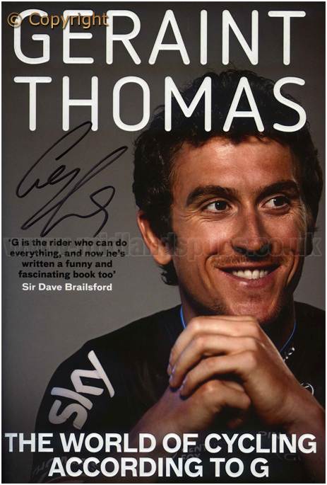 Geraint Thomas : The World of Cycling According to G