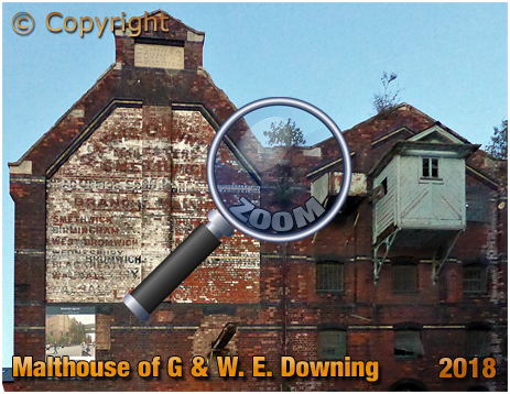 Gloucester Docks : Malthouse of G. & W. E. Downing of Smethwick [2018]