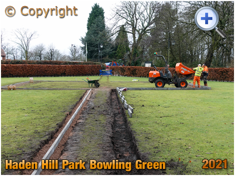 Old Hill : Bowling Green at Haden Hill Park [2021]