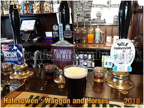 Halesowen : Real Ales at the Waggon and Horses [2018]