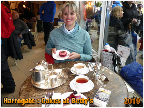 Harrogate : Cake and Tea at Betty's [September 2019]
