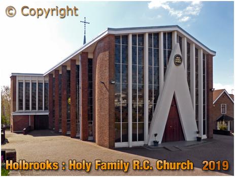 Coventry : Holy Family Roman Catholic Church at Holbrooks [2019]