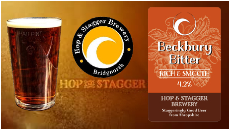 Hop and Stagger Brewery Beckbury Bitter