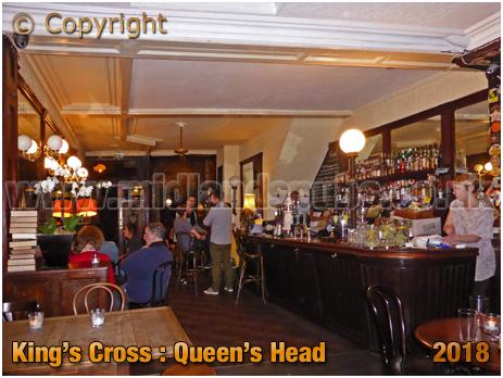 King's Cross : The Queen's Head in Acton Street [2018]