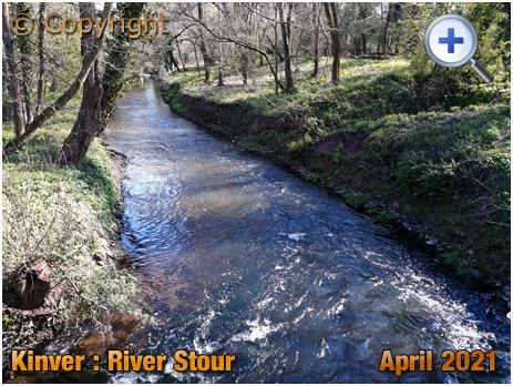 Kinver : River Stour from Dark Lane [2021]