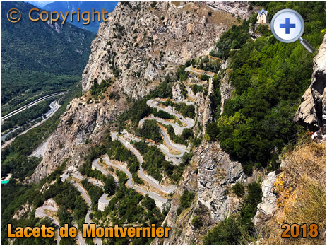 Lacets de Montvernier : Hairpin Bends from Above [2018]